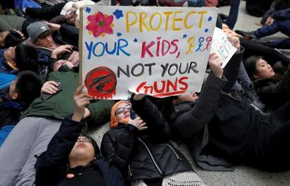 US preps as students hold March for Our Lives events
