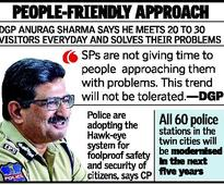 Telangana DGP for third-party feedback on policing