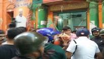Cooch Behar: TMC workers attack BJP leaders