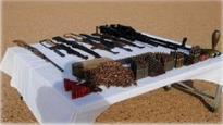 Batch of weapons, munitions seized in Bordj Badji Mokhtar