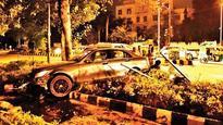 Mercedes rams into car, injures ex-Tihar DG's driver
