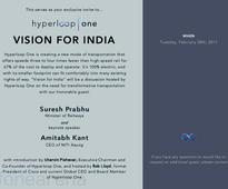 Hyperloop One global showcase event scheduled on February 28 in India