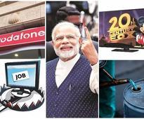 News digest: Exit polls, Vodafone tax dispute, Mudra scheme, and more