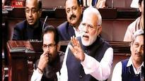 Now, Modi trains guns on Manmohan in RS