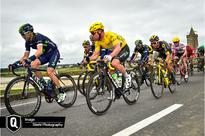 An amazing stage in yellow for Cavendish and Dimension Data