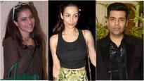 OMG! Kajol IGNORED Malaika Arora at a party because of Karan Johar?