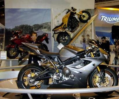 Bajaj changes gear for a power ride with Triumph