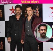 Will Aamir Khan host an award show with Salman and Shah Rukh? The Khans answer  watch video