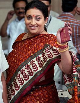 Irani told DU not to disclose her educational qualifications