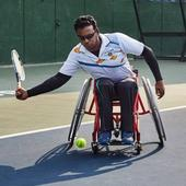 Wheelchair Tennis Player Shiva Prasad Dreams of Representing India at the Paralympics One Day