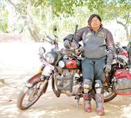 Kozhikode girl biker takes the route less travelled