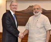 Apple CEO meets PM Modi; launches updated version of 'Narendra Modi mobile app'