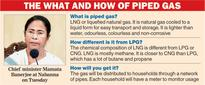 Piped cooking gas in 3 years: Mamata