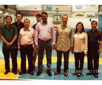 FIBA Asia official visits Brunei