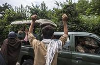 Rawalpindi: Kashmiris protest against Pakistan Army