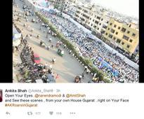 On Arvind Kejriwal's public meeting in Surat
