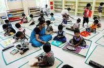 Anganwadis to turn into 'kindergartens'
