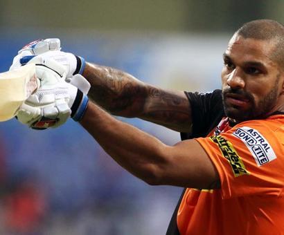Dhawan could replace Warner as Sunrisers captain