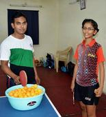 Sreeja is the new face of table tennis