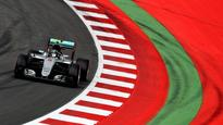 Rosberg fastest in Austria