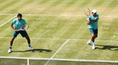 Bhupathi-Bopanna crashes out of Aegon C'ships