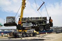 Japan-based Patriot missile battery arrives in Korea