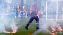 Croatia face sanctions after Euro match halted by flares