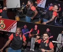Watch Virat Kohli and Chris Gayle bring down the house with their coolest moves