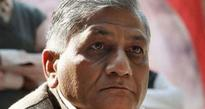 AAP demands sacking of Union Minister VK Singh