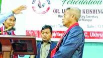 NPF MLAs Leishiyo Keishing, Khashim Vashum feted br NPF leader cites reasons for supping with BJP
