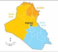 Some call for partitioning Iraq into a Sunni, Shiite , Kurdish zones