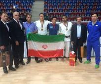 Iranian judo juniors snatch 1 gold, 2 bronze medals