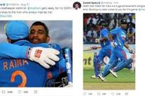 Raina commits a 'Dhoni' blunder