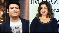 Kapil Sharma breaks silence on Farah Khan's