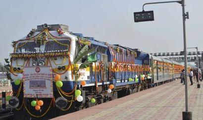 Agartala-Delhi Rajdhani flagged off, to run once a week