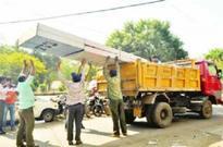 BMC escalates drive  against illegal hoardings