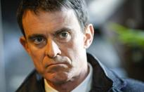 French ex-PM Valls shown winning left-wing presidential primaries