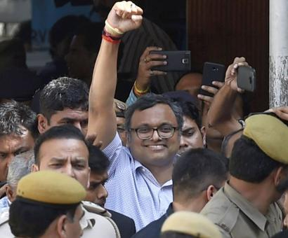 Karti sent to 13-day jail, no special cell for him in Tihar