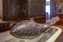 Yours for $150,000: this lead fish sculpture by Frank Gehry