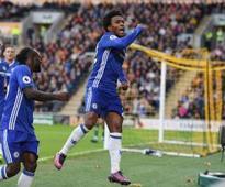 Willian 'very, very happy' he turned down Tottenham for Chelsea