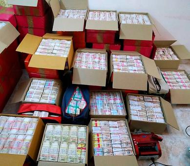 Rs 24 crore in new notes seized from Vellore