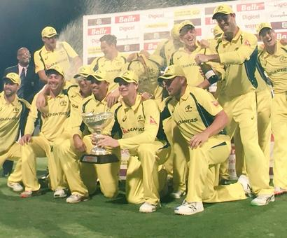 Tri-nation: Australia beat West Indies to claim series