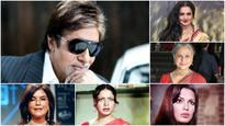 Rekha, Jaya, Raakhee, Zeenat and Parveen - 5 heroines who made the best jodi with Big B!