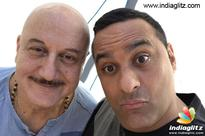 Anupam Kher thanks Russell Peters