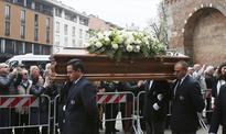 Retired AC Milan greats mourn Cesare Maldini at funeral