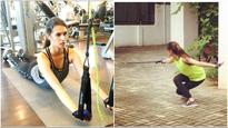 Here's proof: Kriti Sanon's sweating it out for 'Raabta'; Sushant Singh Rajput, you've got competition!