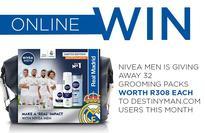 Win one of 32 NIVEA grooming packs worth R308 each!