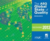 ASQ Report: Significant Gaps Remain in Management of Quality, Use of...