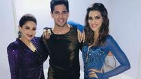 Check pic: Sidharth Malhotra and Kriti Sanon share their 'Dil Toh Pagal Hai' moment with Madhuri Dixit Nene