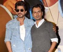 Nawaz: SRK doesn't carry his stardom on set